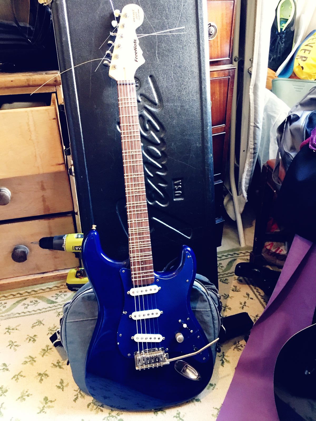 FreeNote 24 fret Just - all frets